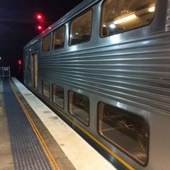 Photo taken at Strathfield Station (Platforms 7 & 8) by David K. on 9/14/2014