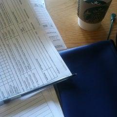 Photo taken at Starbucks by Sarah A. on 10/15/2012