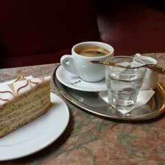 Photo taken at Café Ritter by Andreea P. on 10/18/2013