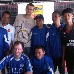 Photo taken at Cimahpar Futsal by Rama C. on 10/13/2012