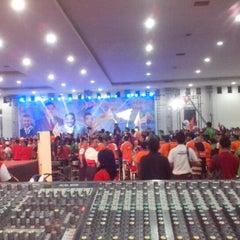 Photo taken at Jogja Expo Center (JEC) by Djoko P. on 12/19/2012