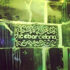 Photo taken at Icebarcelona by Anabell L. on 11/17/2012