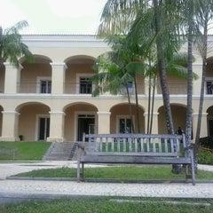 Photo taken at Casa das Onze Janelas by Eliziane V. on 5/9/2013