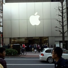 Photo taken at Apple Store 渋谷 by To M. on 1/2/2013