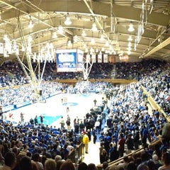 Photo taken at Cameron Indoor Stadium by Johnnie B. on 1/5/2013
