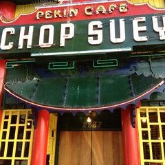 Photo taken at Chop Suey Pekin Cafe by Bil B. on 5/26/2014