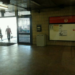 Photo taken at Estação Jaboatão (CBTU/Metrorec) by Gilberto S. on 5/25/2013
