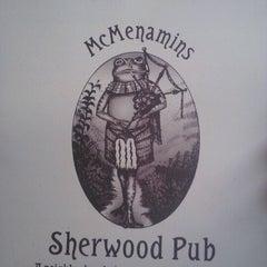 Photo taken at McMenamins Sherwood by Chris M. on 10/20/2012