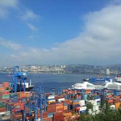 Photo taken at Paseo 21 de Mayo by Daniel G. on 11/19/2012