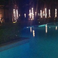 Photo taken at Sugar Beach Mauritius Hotel Resort & Spa by Rebecca S. on 12/24/2012