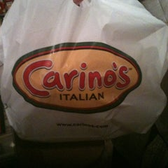 Photo taken at Carino's Italian Grill by Hannah A. on 10/21/2012