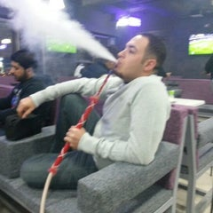 Photo taken at Hookah Lounge Cafe by Aziz D. on 1/23/2013