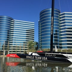 Photo taken at USA-71 BMW-Oracle Racing Boat by Davide 🍷🍷 on 3/26/2015
