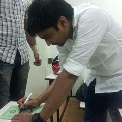 Photo taken at Gora Gandhi Juice Corner and Veg World - Pure Veg by abhishek P. on 1/26/2013