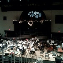 Photo taken at Upper Darby Performing Arts Center by Kari H. on 12/9/2012