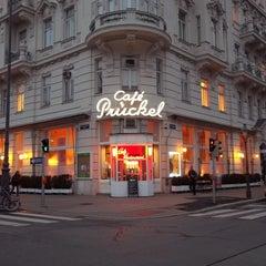 Photo taken at Café Prückel by Réka Manon on 11/26/2012