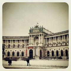Photo taken at Österreichische Nationalbibliothek - Austrian National Library by banu c. on 2/26/2013