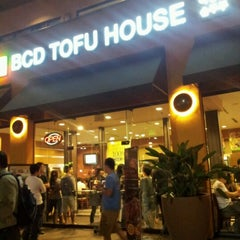 Photo taken at BCD Tofu House by TJ J. on 10/27/2012