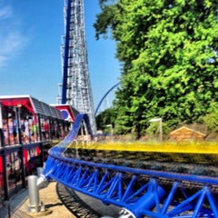 Photo taken at Millennium Force by John H. on 8/21/2013