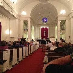 Photo taken at Central United Methodist Church by Taylor L. on 3/29/2013