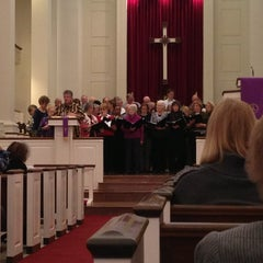 Photo taken at Central United Methodist Church by Taylor L. on 3/10/2013