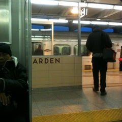 Photo taken at Warden Subway Station by Eric F. on 1/17/2013
