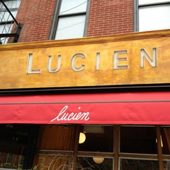 Photo taken at Lucien by AndresT5 on 2/7/2013