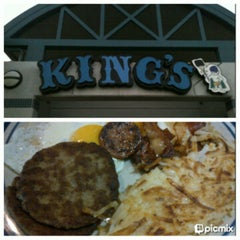 Photo taken at King's Restaurant by Charmaine D. on 2/19/2013
