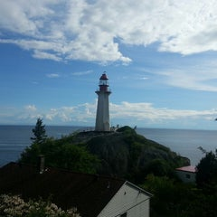 Photo taken at Point Atkinson Lighthouse by Elaine W. on 5/19/2014