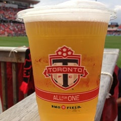 Photo taken at BMO Field by Mathew R. on 6/29/2013