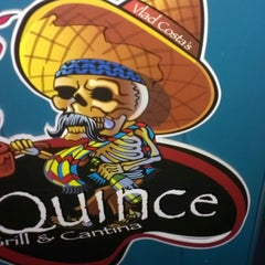 Photo taken at Quince Grill & Cantina by Heather D. on 5/27/2013