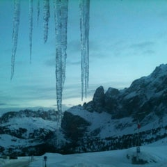 Photo taken at Rifugio Passo Sella by Dino R. on 12/18/2012