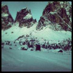 Photo taken at Rifugio Passo Sella by Dino R. on 12/13/2012