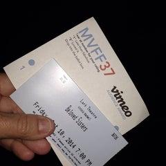 Photo taken at Lark Theater by virginia t. on 10/11/2014