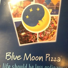 Photo taken at Blue Moon Pizza by Derrick V. on 11/2/2012