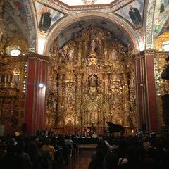 Photo taken at Museo Nacional del Virreinato by Alan S. on 1/24/2013