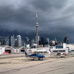 Photo taken at Billy Bishop Toronto City Airport (YTZ) by Brian B. on 7/7/2013
