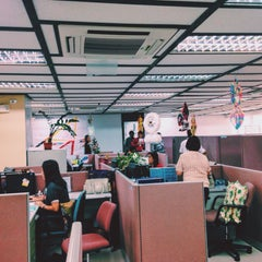 Photo taken at Philippine Airlines Head Office by Jannah P. on 12/3/2015