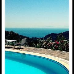 Photo taken at Zephyros Hotel by Gozde T. on 8/6/2013