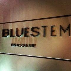 Photo taken at Bluestem Brasserie by Kyle M. on 7/25/2013