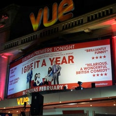 Photo taken at Vue Cinema by Mei S. on 1/24/2013
