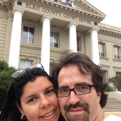 Photo taken at Elko County Courthouse by Jose R. on 8/31/2014
