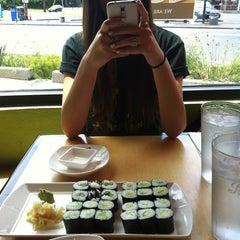 Photo taken at Mio Sushi by Gena on 6/19/2013