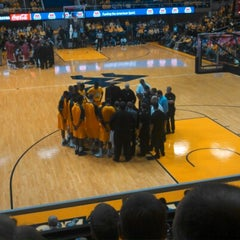 Photo taken at WVU Coliseum by Daniel H. on 1/5/2013