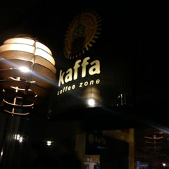 Photo taken at Kaffa Coffee Zone by Carla O. on 11/3/2012
