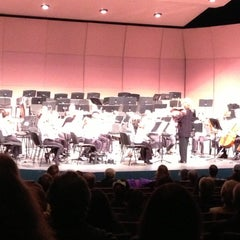 Photo taken at The Craterian Theater at The Collier Center for the Performing Arts by Amy B. on 11/11/2012