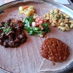 Photo taken at Ethiopian Diamond by Cheryl W. on 12/31/2012