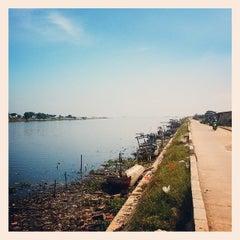 Photo taken at Pantai Marunda by Ndree on 4/10/2015