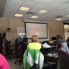 Photo taken at Bingham Humanities Building by Amelia on 2/12/2014