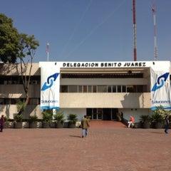 Photo taken at Delegación Benito Juárez by Emilio M. on 11/16/2012